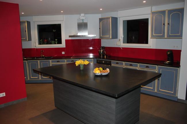Graniterie andr demange table et plan de travail for Table de cuisine plan de travail